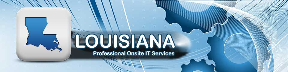 Louisiana Local Onsite PC Repair, Network, Voice and Data Cabling Services
