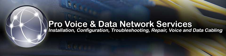Texas Professional Network Installation, Configuration, Repair & Voice and Data Cabling Services
