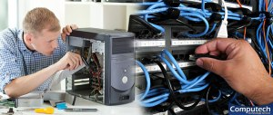 Sachse TX Onsite Computer PC & Printer Repairs, Network Support, & Voice and Data Cabling Services