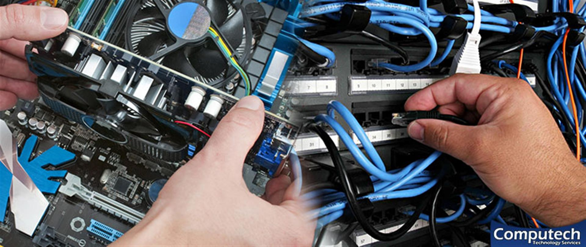 Flowery Branch Georgia Onsite PC & Printer Repairs, Networking, Voice & Data Cabling Contractors