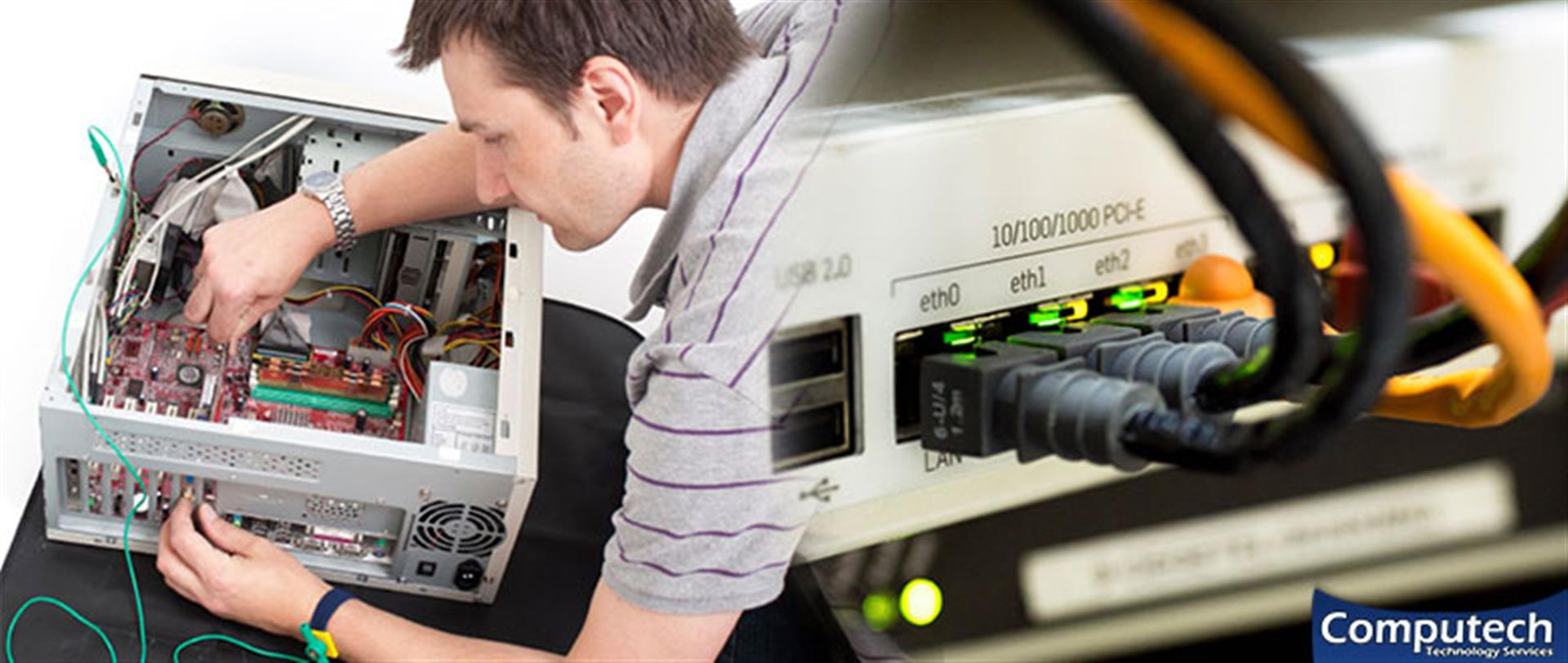 Fayetteville Tennessee On Site PC & Printer Repairs, Network, Voice & Data Cabling Solutions