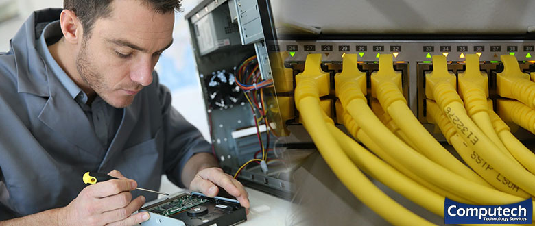 Plymouth Pennsylvania On Site Computer PC & Printer Repair, Network, Voice & Data Low Voltage Cabling Services
