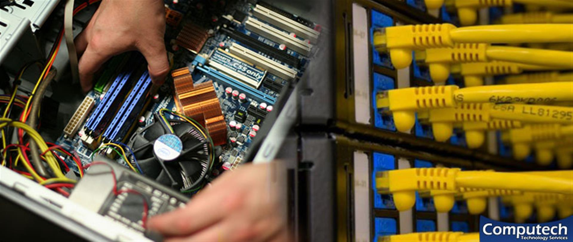 Bristol Virginia On Site Computer & Printer Repair, Networks, Voice & Data Cabling Contractors