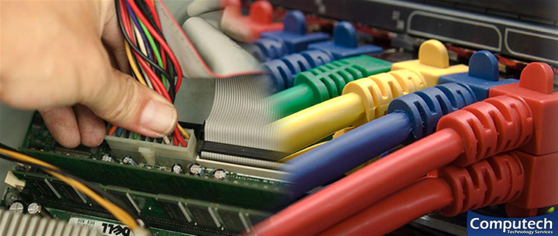 Dublin Virginia Onsite Computer PC & Printer Repair, Networking, Voice & Data Cabling Contractors