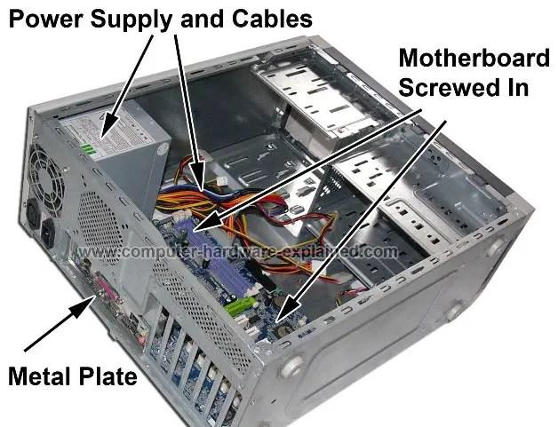the computer after the motherboard had been installed LIVE হার্ডওয়্যার টিউটোরিয়াল শিখুন  না দেখলে বিশাল মিস করবেন