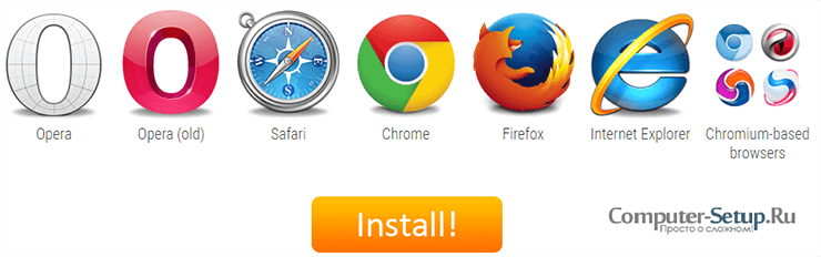 Fastetube Extensions والمكونات الإضافية للمتصفح الخاص بك