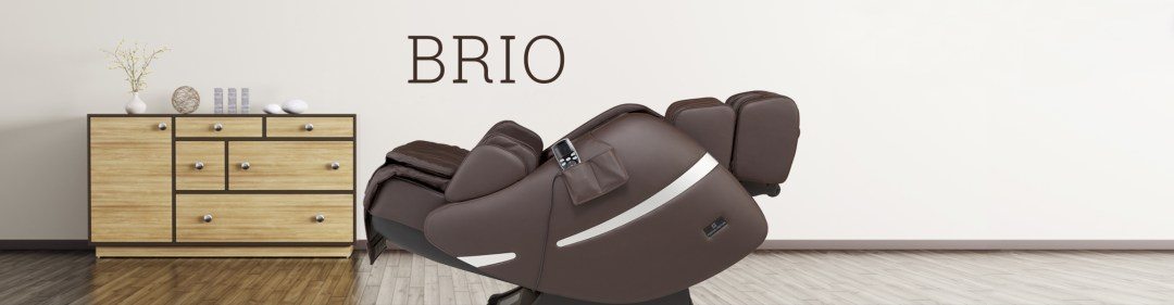 Brio is available in Cream, Dark Brown, and Black