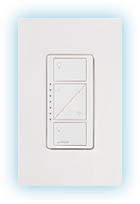 Caseta Dimmer with Claro wall plate
