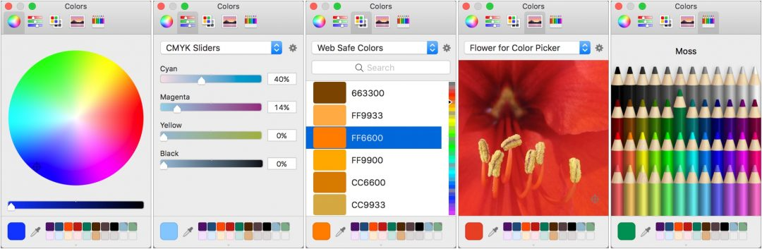 Learn to Use the Color Picker: Put Some Color in Your Mac