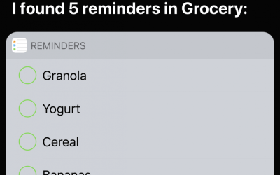 Create and Name Reminders Lists to Use Them Via Siri