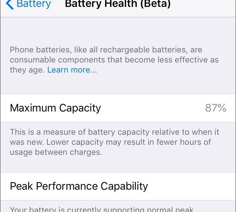 iOS 11.3 Introduces New Battery Health Feature, Business Chat, and More