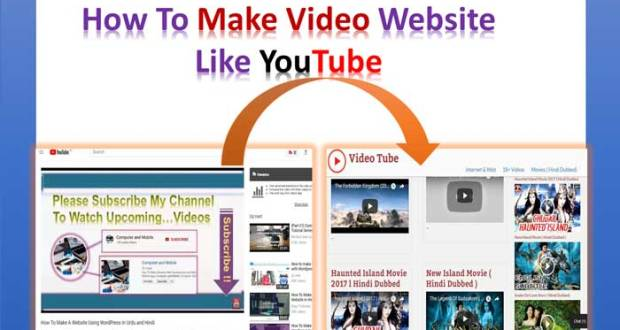 how-to-make-video-website