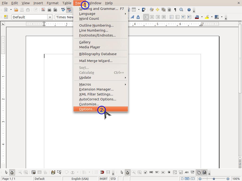 encrypt openoffice spreadsheet