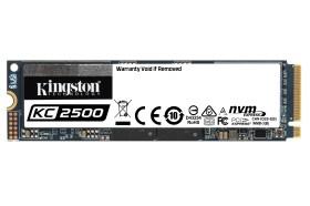 Kingston推出新一代KC2500 NVMe PCIe SSD固態硬碟