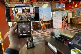 拍Hooters Girls手持穩定錄影就靠它!LG WING 翻轉螢幕手機在台開賣