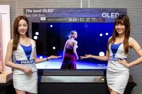 強大的影音震撼表現 飛利浦旗艦OLED電視內建B&W音響系統