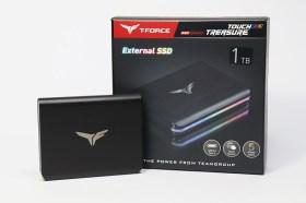 最炫的外接式SSD!十銓TREASURE TOUCH 外接式 RGB SSD