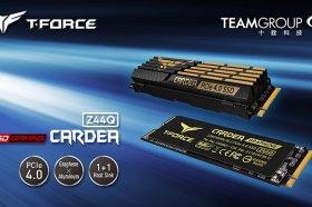 十銓推出T-FORCE CARDEA Z44Q PCIe 4.0固態硬碟  散熱雙組合強悍推出