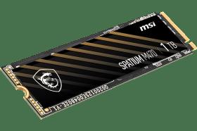 MSI擴展消費級SSD產品線!推出三款SPATIUM系列急速NVMe SSD