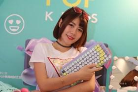 可以訂製Emoji快速鍵!羅技POP KEYS無線機械式鍵盤開箱介紹