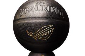 ROG跨界聯名SPALDING 推出電競籃球!限量開賣但有RGB燈效嗎?