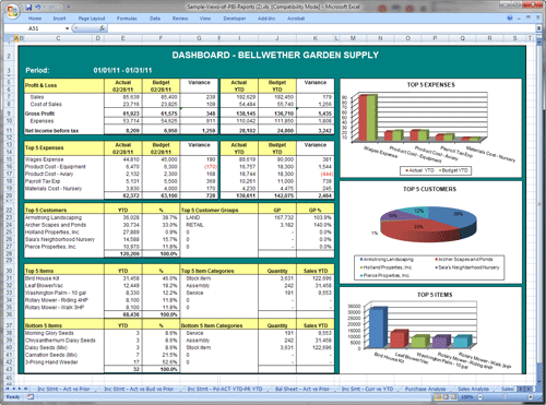 Sage Business Intelligence Reporting