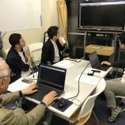 有限会社KCM 社長 宮川惠さんに来ていただきました。マイツールで開発した業務システムのプログラムを見せていただきました。