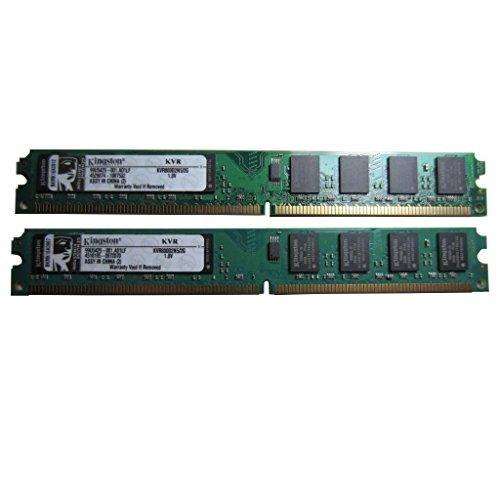 4GB Kit 200-Pin DDR2 PC2-6400S 800MHz SODIMM LAPTOP MEMORY Dell HP Apple 2GBx2