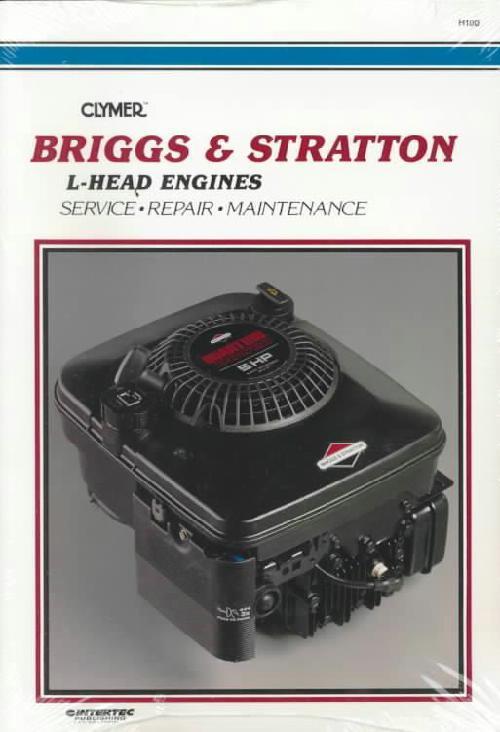 Briggs Amp Stratton L Head Engine Clymer Owners Service