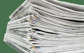 Een stapel kranten
