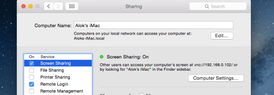 apple screen sharing
