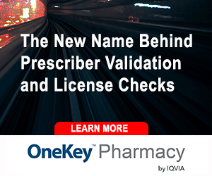 OneKey Pharmacy The New Name Behind Prescriber Validation and License Checks by IQVIA