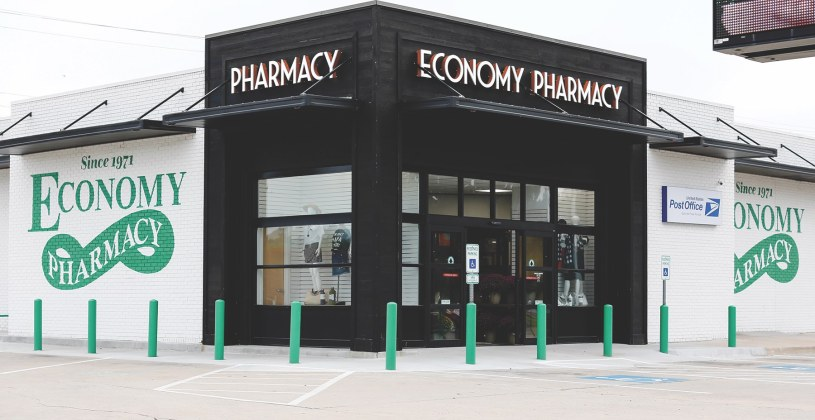 Economy Pharmacy, Okla.