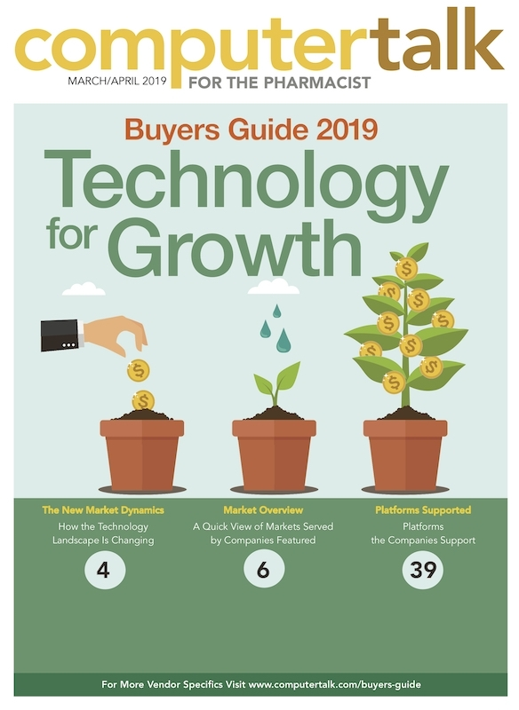 2019 ComputerTalk for the Pharmacist Pharmacy Technology Buyers Guide