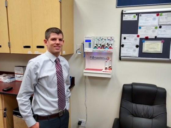 Rocky Parker, Pharm.D., is a pharmacy manager at Harmons