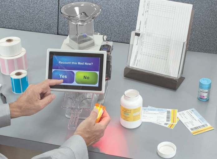 Long trusted as a verification-and-counting device for daily Rx filling, the KL1Plus has a new electronic C-II log.