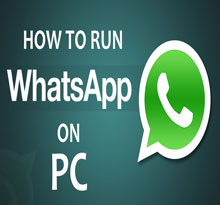 How To Run Whatsapp On PC By Bluestacks