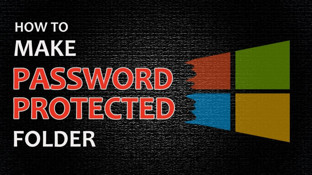 creating password protect folder