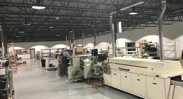 New Computrols Production Area