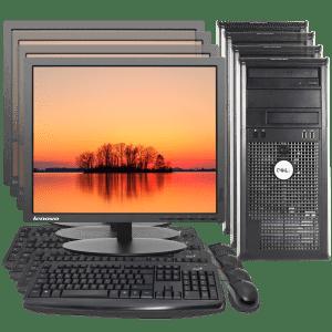 Combo Computadores Remanufacturados / Computadores Usados