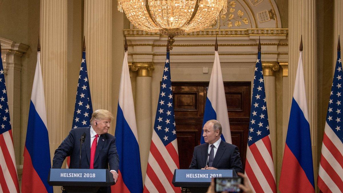 Comrade Trump's Helsinki Bow To Putin