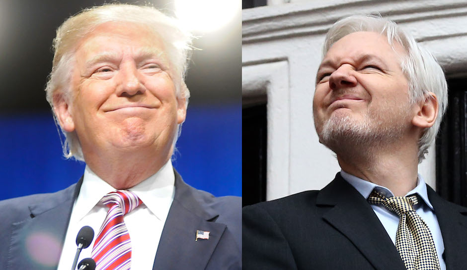 Wikileaks Julian Assange and the Trump Russia Connection