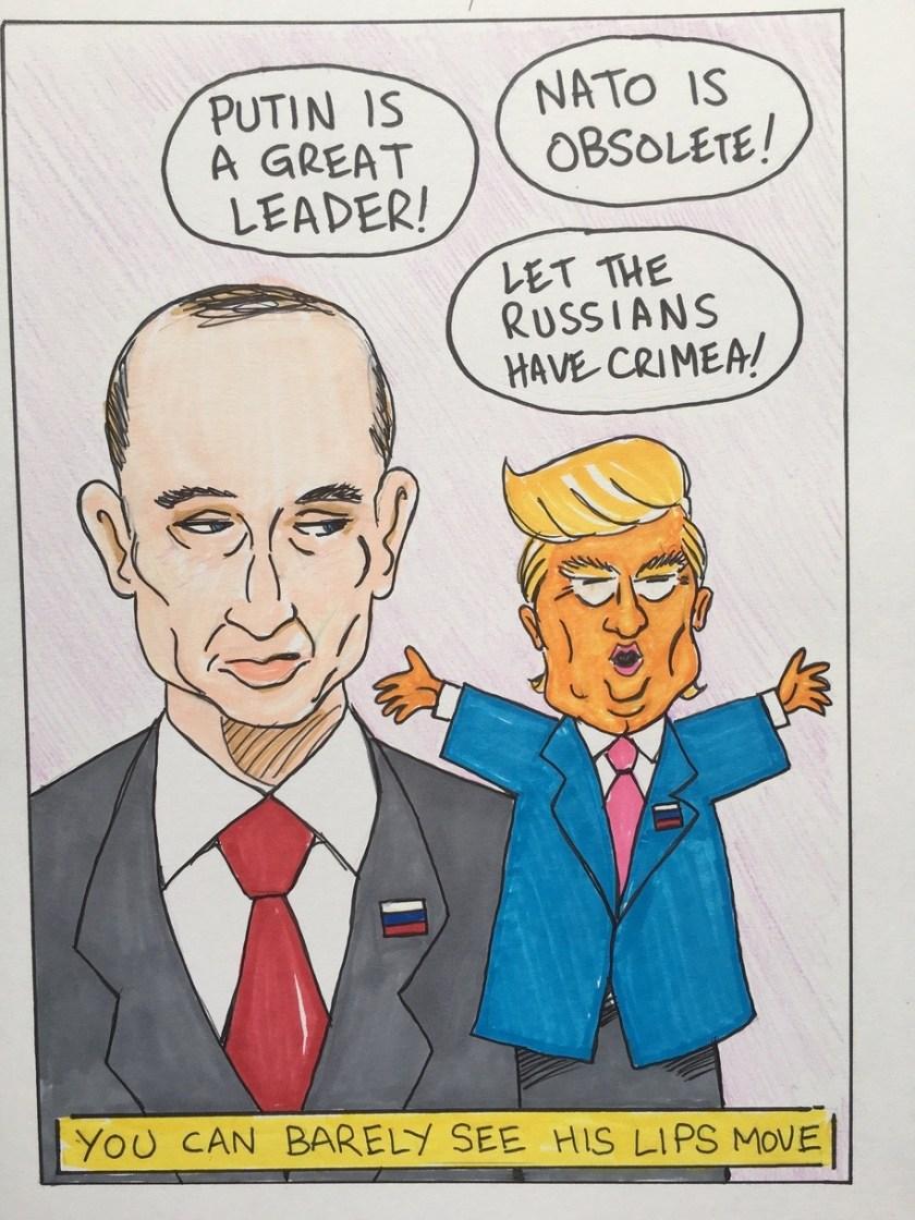 Trump Political Cartoons