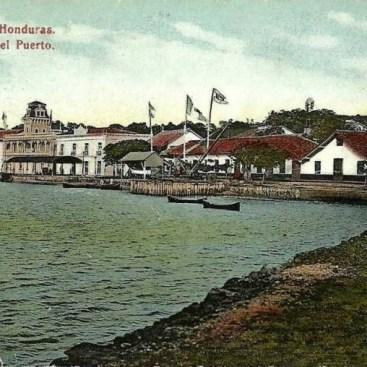 Puerto de Amapala, por donde se exportaba el café de Marcala.