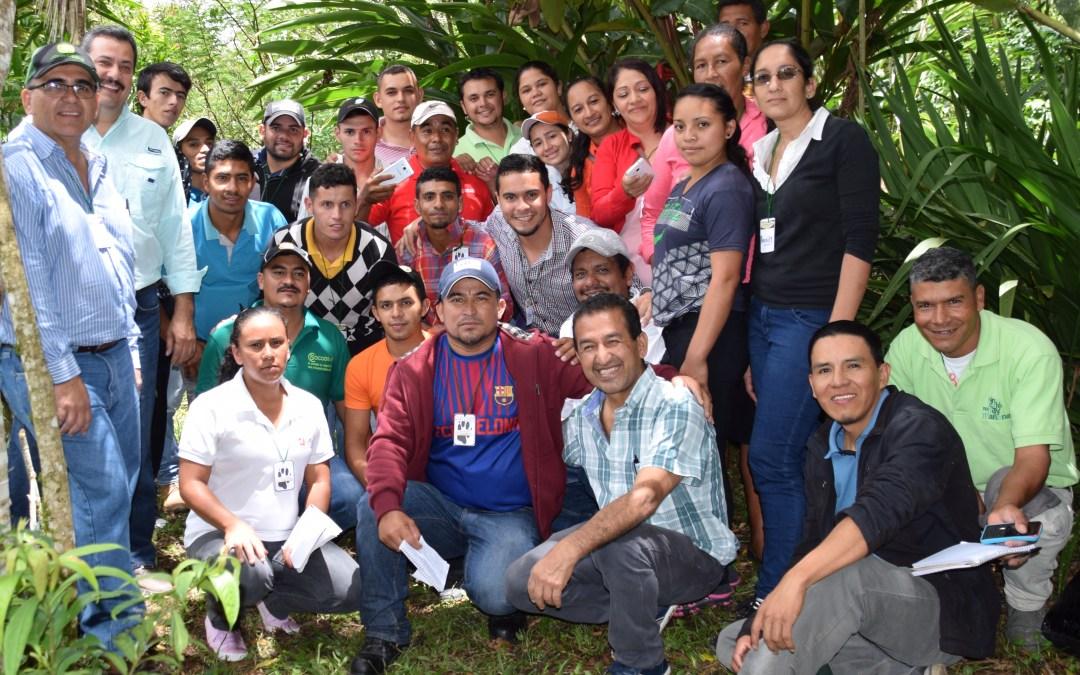 29 productores de cuatro departamentos se incorporan al movimiento Pata de Chucho