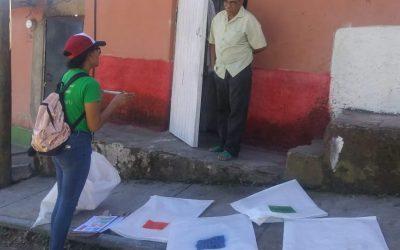 Voluntarios de JLM inician enseñanza casa por casa