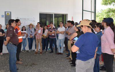 Estudiantes de catación del IHCAFE conocen la propuesta innovadora de COMSA