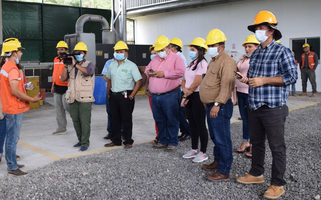 El alcalde de Marcovia y vicealcaldesa de Choluteca, realizan gira en el programa Juntos Limpiamos Marcala