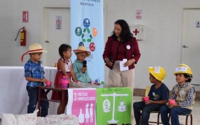 Marcala gana concurso Ciudades por el Comercio Justo, en la categoría de Educación