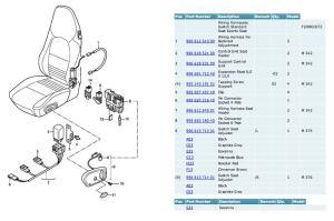 How to repair seat heater cushion  6SpeedOnline  Porsche